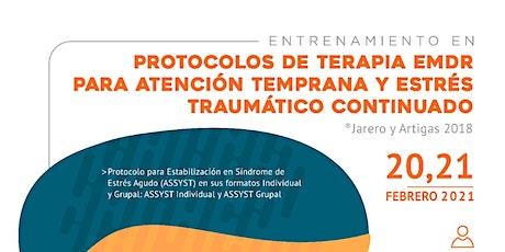 Entrenamiento en Protocolos de Terapia EMDR para Atención Temprana y Estrés entradas