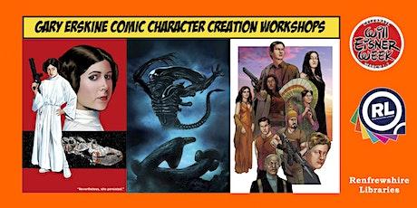 Gary Erskine - Character Design Workshop tickets