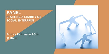 Panel Discussion: Starting a charity or social enterprise tickets