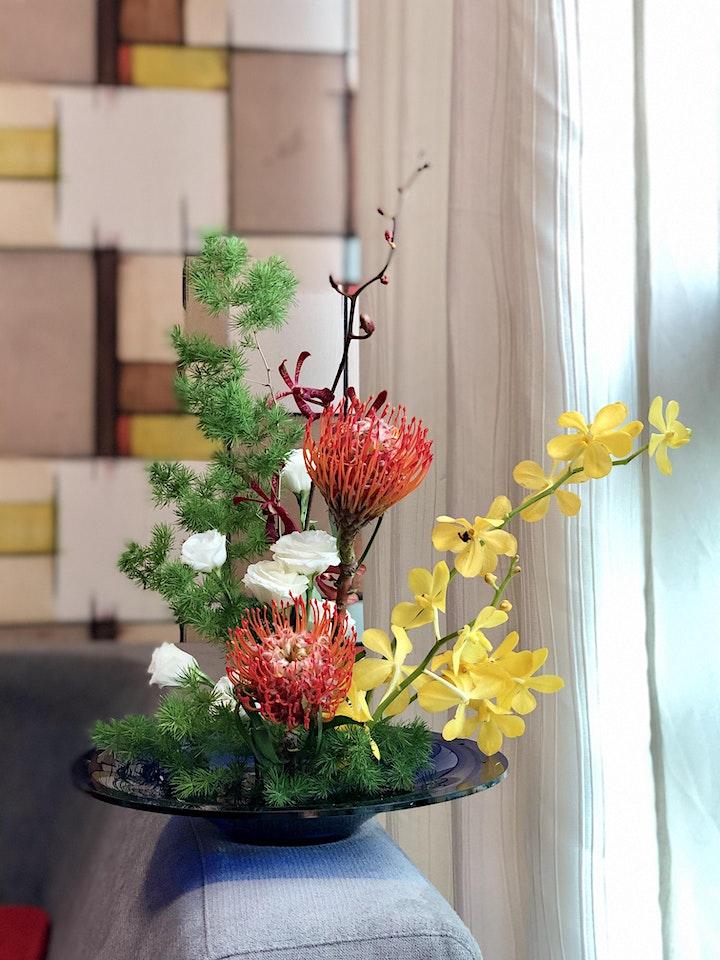 Soul Art: Six Senses Floral Arrangement Workshop image