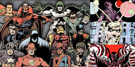 'The Silver Age of Comics: Rise of the Flawed Superhero' Webinar tickets