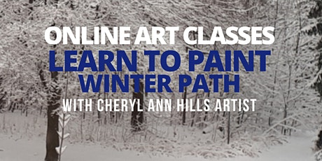 Learn to Paint a Winter Path tickets