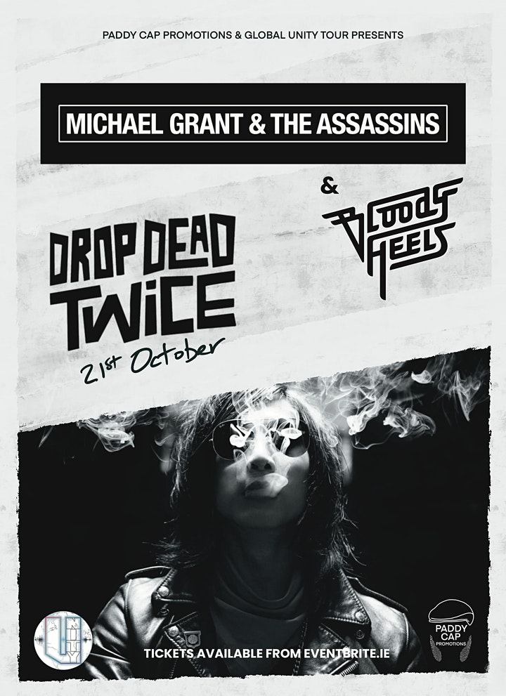 Michael Grant & The Assassins/ Bloody Heels. Dublin, 21st October 2021 image