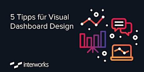 5 Tipps für Visual Dashboard Design tickets