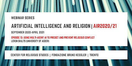 Artificial Intelligence and Religion – AIR2020/21, 13th episode biglietti