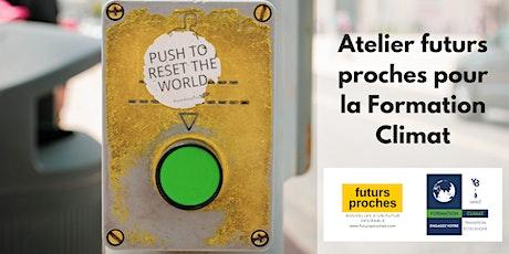 Atelier Futurs Proches - Imaginer et écrire des nouveaux récits désirables billets