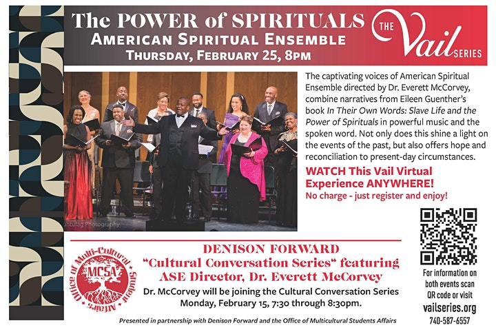 Vail Virtual Experience-American Spiritual Ensemble The Power of Spirituals image