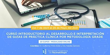 Curso SAR Introductorio Guías de práctica clínica por Metodología Grade. entradas