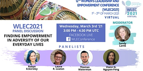 Panel discussion: Finding Empowerment in Adversity of Our Everyday Life tickets