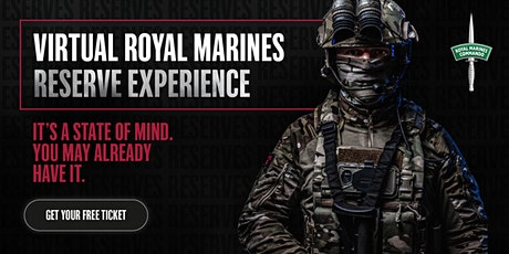 Virtual Royal Marines Reserve Experience tickets