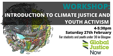 Glasgow: Climate Justice and an Introduction to Youth Activism tickets