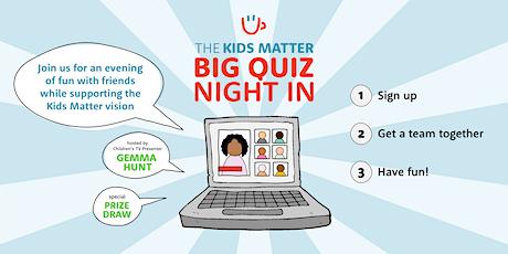 The Kids Matter Big Quiz Night In tickets