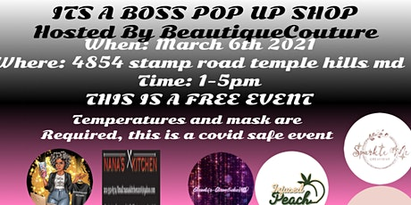 Its A BOSS PopUp Shop tickets
