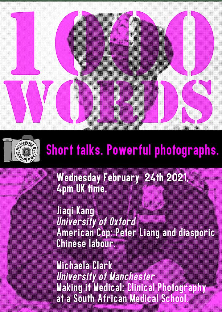 1000 Words: Short Talks, Powerful Photographs image