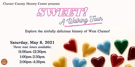 Sweet! A Walking Tour of West Chester tickets