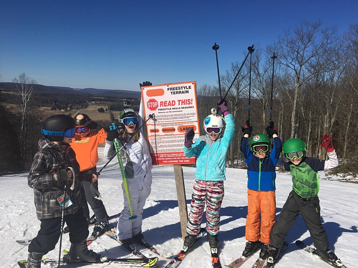 Kids 15 and under Ski For FREE day! (Limited tickets available.) image