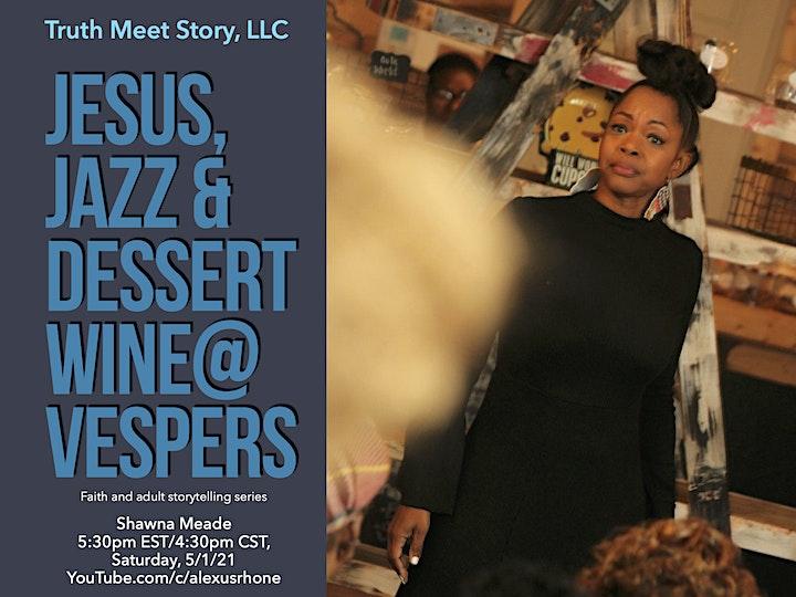 Jesus, Jazz & Dessert Wine@Vespers, featuring Shawna Meade (5/1) image