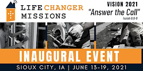 Life Changer Missions Inaugural Event tickets