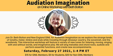 Audiation Imagination: an Online Workshop with Beth Bolton tickets