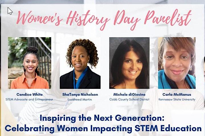 Women's History Day Celebration 2021! image