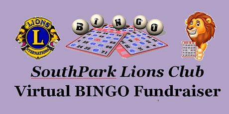 SouthPark Lions Club Virtual Bingo Fundraiser tickets