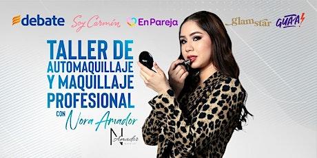 Taller de automaquillaje y maquillaje profesional con Nora Amador entradas