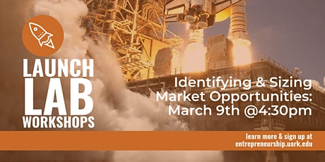 LAUNCH LAB SERIES: Identifying & Sizing Market Opportunities tickets