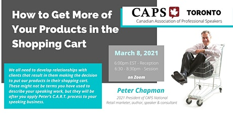 CAPS Toronto - How to Get More Products in the Shopping Cart tickets
