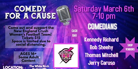 Comedy for a Cause to benefit New England Crush Womens Football Team tickets