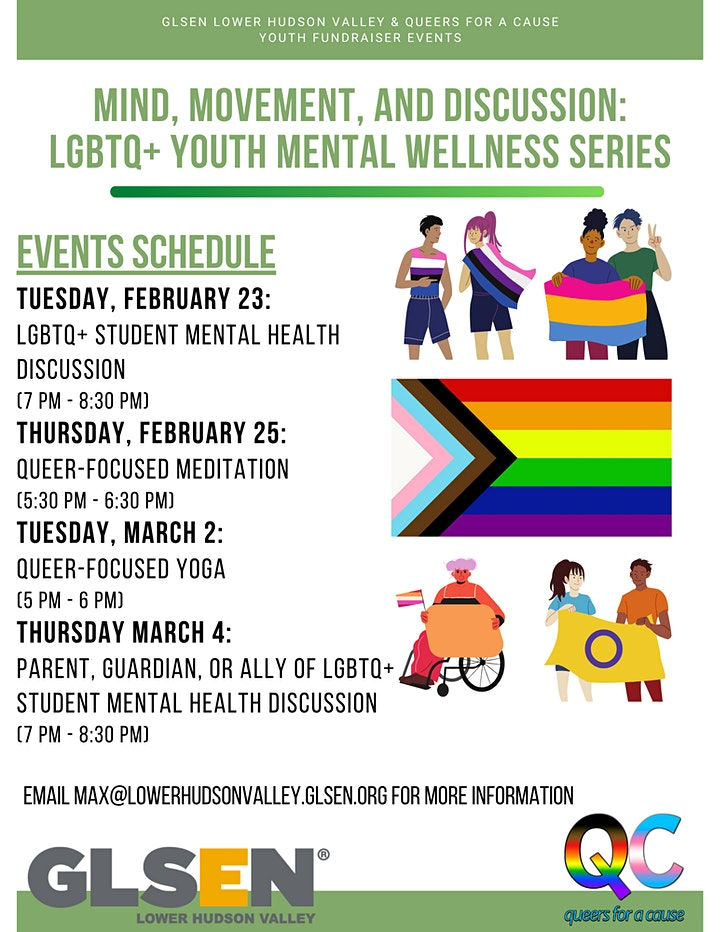 Parent/Guardian or Ally of LGBTQ+ Student Mental Health Discussion image