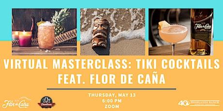 Virtual Masterclass: Tiki Cocktails feat. Flor de Caña tickets