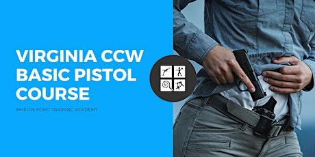 Virginia CCW - NRA Basic Pistol Shooting Course tickets