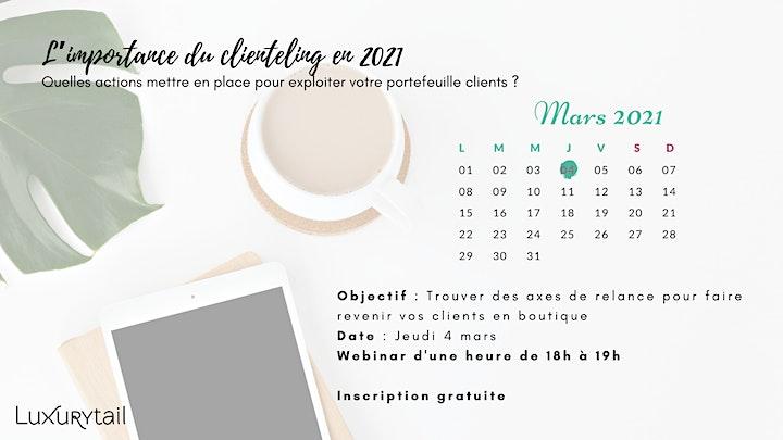 """Image pour Conférence  """"Luxe en Live"""" : L'importance du clienteling en 2021"""