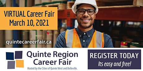 Employer Registration - Virtual Quinte Region Career Fair tickets