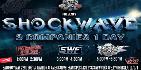 SWF WRESTLING PRESENTS SHOCKWAVE tickets