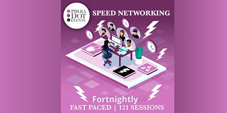 Polka Dot Events Speed Networking tickets