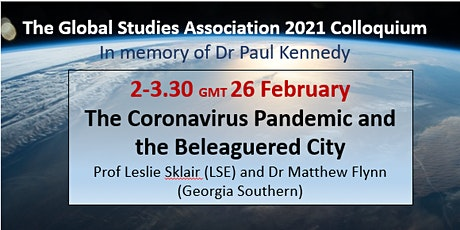 GSA Colloquium Event 1: The Coronavirus Pandemic and the Beleaguered City tickets
