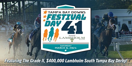 Tampa Bay Downs Festival Day 41 tickets