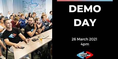 ONLINE Demo Day #14 by Coding Bootcamp Praha tickets