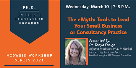 The eMyth: Tools to Lead Your Small Business or Consultancy Practice tickets