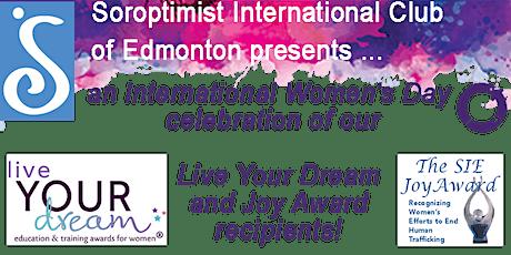 International Women's Day Live Your Dream and Joy Award Celebration biglietti