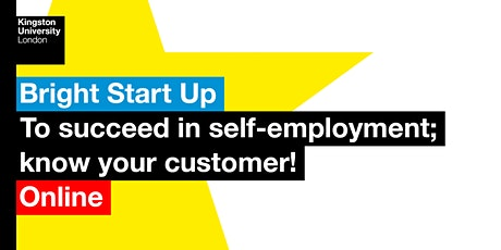 Bright Start Up: know your customers! tickets