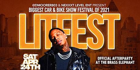 LIT FEST CAR & BIKE SHOW (MONEY BAGG YO PERFORMING LIVE) tickets