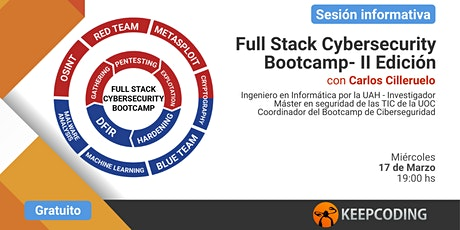 Sesión informativa: Full Stack Cybersecurity Bootcamp - II Edición tickets