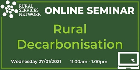 RSN Seminar: Rural Decarbonisation tickets