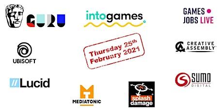 UK Games Industry Internships, Graduate Schemes and Traineeships tickets