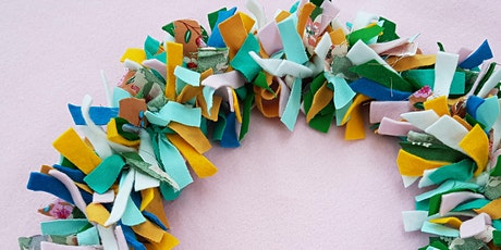 Spring Fabric Wreath Workshop with Agnis Smallwood tickets