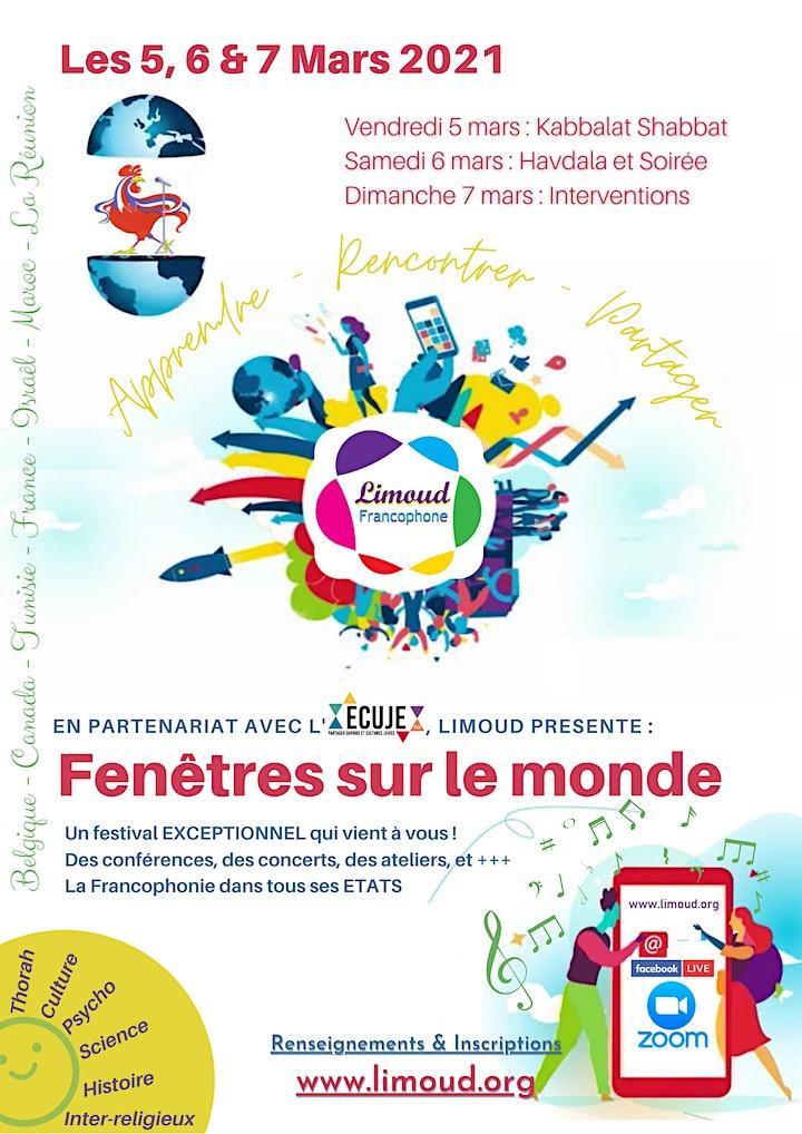 Image pour Limoud Francophone 2021 : Fenêtres sur le monde