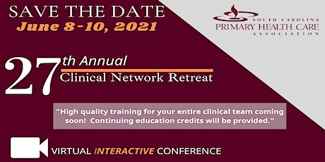 SCPHCA 27th Annual Clinical Network Retreat tickets