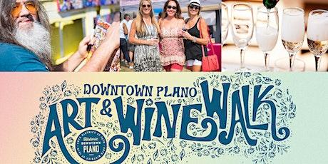 Downtown Plano Art + Wine Walk tickets